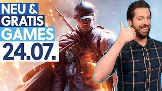 KOSTENLOS Battlefield 1 & drei andere Spiele - Neu & Gratis-Games