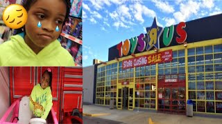 Overnight Challenge At Toys R Us Parody Last Time At Toys R Us!