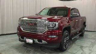 2016 GMC Sierra 1500 Denali Crew Cab Sunroof 22in Gloss Black Wheels Oshawa ON Stock # 160505