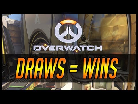Overwatch DRAWS count as WINS