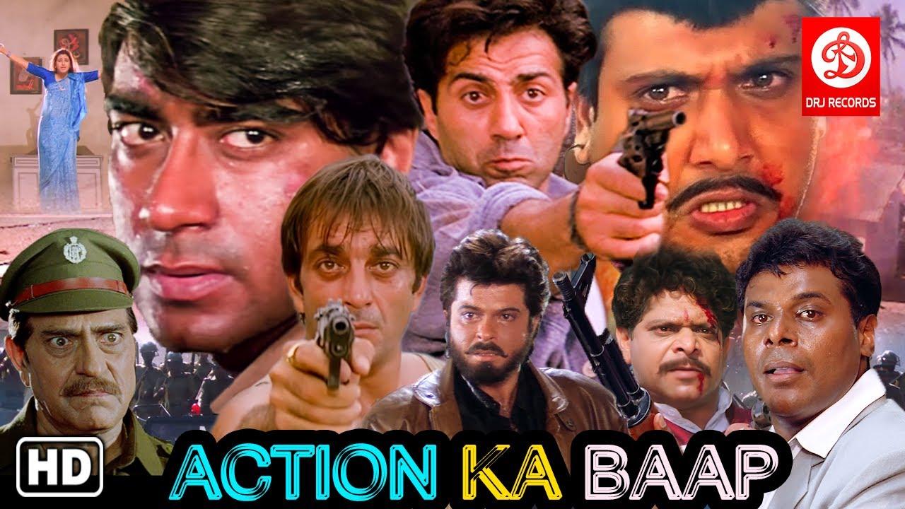 Download Action Ka Baap - Ajay Devgan - Sunny Deol - Sanjay Dutt - Govinda - Top Bollywood Action Scenes