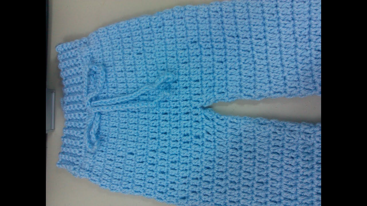 Easy To Crochet Baby Infant Pants Yolanda Soto Lopez Youtube