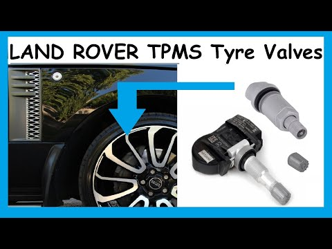 Land / Range Rover TPMS Valves Basic Explanation & How To Replace A Leaking Valve Stem / Seal