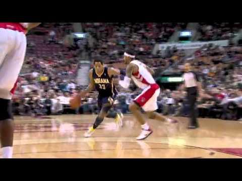 Danny Granger dunk against Toronto 3-11-11