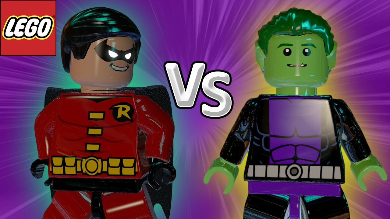 Lampada Lego Batman : Robin vs mutano lego batman briga de herois youtube