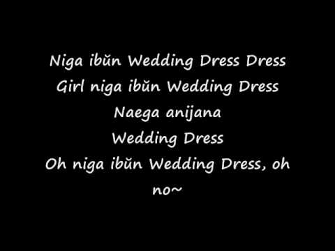 Wedding Dress  Taeyang Lyrics