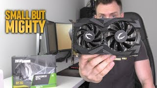 how FAR can it manually OC? ZOTAC GTX 1660 Ti Review
