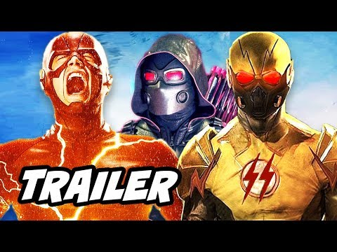 Download Youtube: The Flash Season 4 Arrow Supergirl Crossover Official Trailer - Crisis on Earth X Breakdown