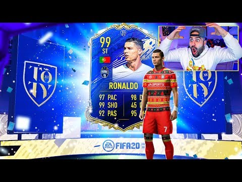 OMG I GOT TOTY 99 CRISTIANO RONALDO!! FIFA 20 Ultimate Team