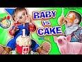 BABY vs CAKE! Shawn