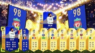 OMG Look At This Pack!! TOTS Salah!! Fifa 18 Ultimate Team