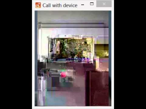 Asterisk VP8 Passthrough Demo Over The Internet - VoIP Nuiz Thailand
