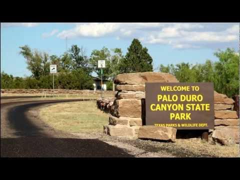 Palo Duro Canyon, Texas  Scenic Drive