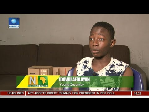 Africa Tech: 15-Year-Old Nigerian Invests Mini ATM |Network Africa|