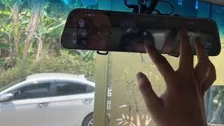 Camera hành trình Android gương giá rẻ ram 2G android 8.1