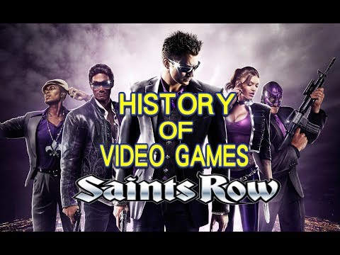 History of Saints Row (-) - Video Game History