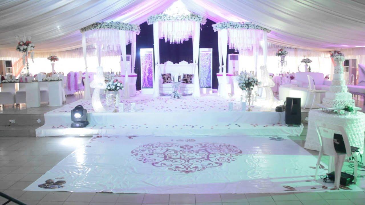 Yuki And Isaac Wedding Reception Venue At Jasmine Garden In Benin