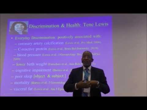 David Williams: Stress, Social Relationships and Health