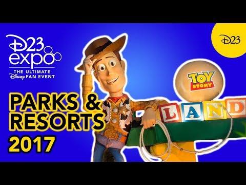 Walt Disney Parks and Resorts at D23 Expo