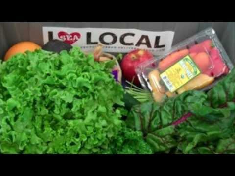 Seattle's Local Organic Produce Box: April 1st - 5th