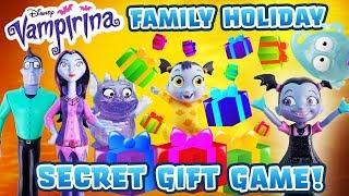 Vampirina Secret Gift Guessing Game w/ Oxana, Boris, Gregoria, Demi & Nosy & Learn Colors & Numbers!