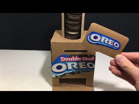 Thumbnail: How To Make a Simple OREO Vending Machine With Card!