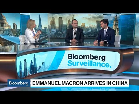 Gallo Says Macron's China Trip Can Be a 'Strong Positive'