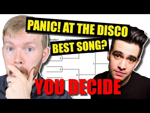 Which Panic! at the Disco Song Is BEST? [Bracket Tournament]