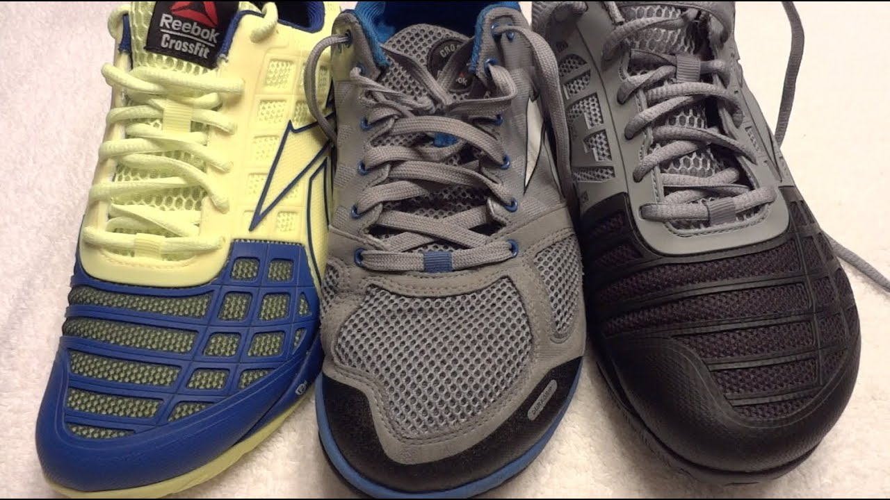 31eee653ac7857 REEBOK CrossFit Nano 2.0 vs Nano 3.0 detailed comparison - YouTube