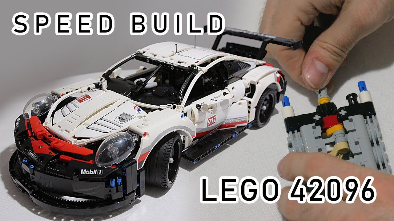 new lego technic 42096 review lego porsche 911 rsr. Black Bedroom Furniture Sets. Home Design Ideas