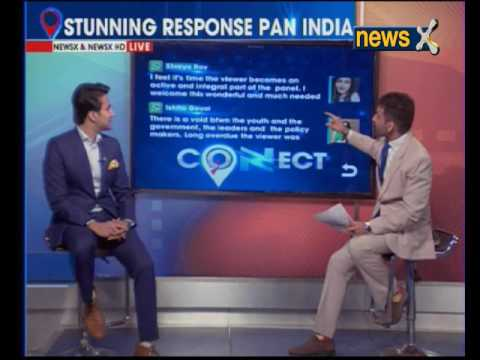 In a first, NewsX immerses digital media with mainstream TV through CONNECT