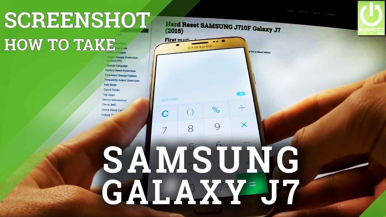 How to Take Screenshot on SAMSUNG Galaxy J11 (11)