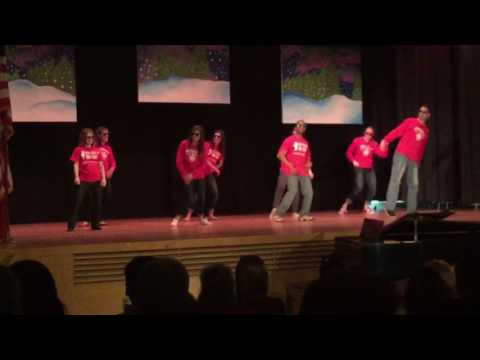 Teachers' Opening Act for Talent Show at Wolcott School