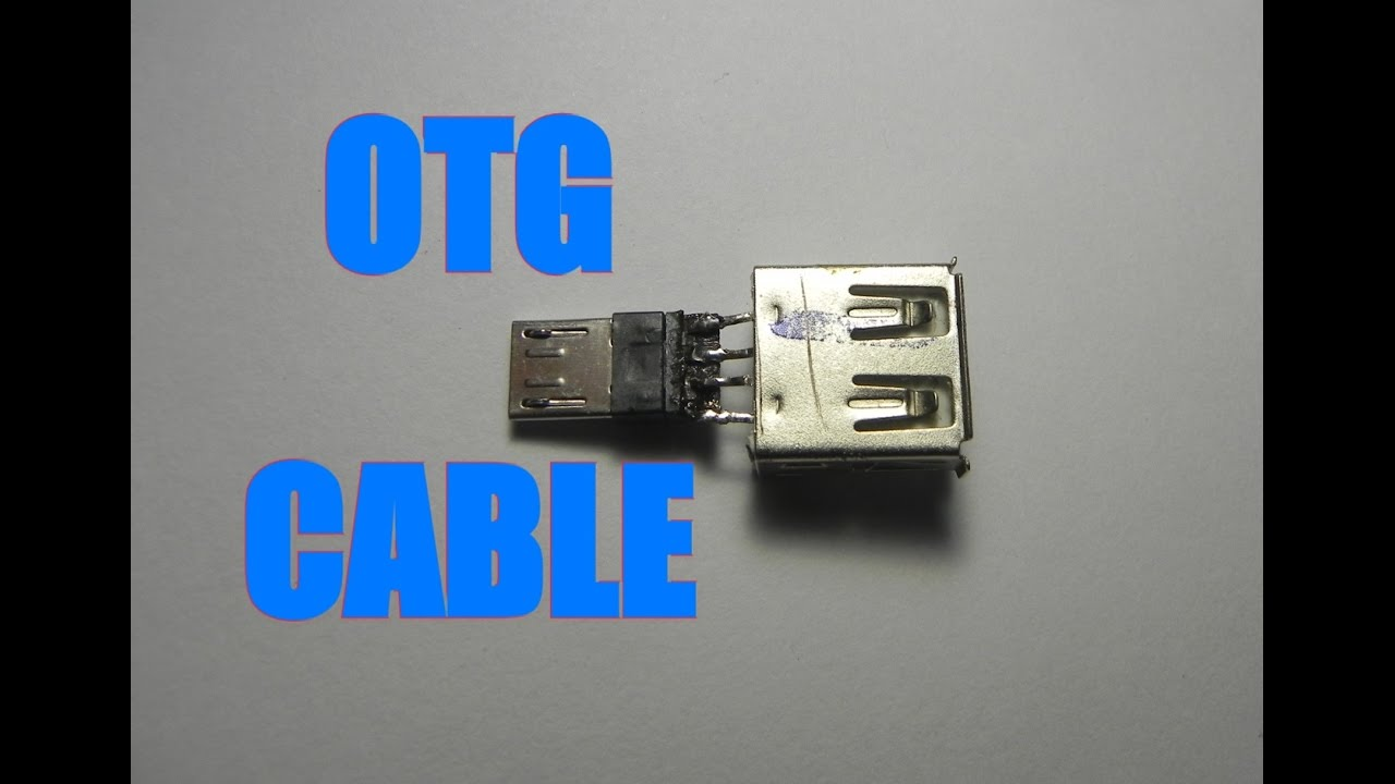 how to make otg cable version 2upgraded tutorial youtube