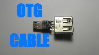 HOW TO MAKE OTG CABLE VERSION 2(UPGRADED) TUTORIAL!!!!