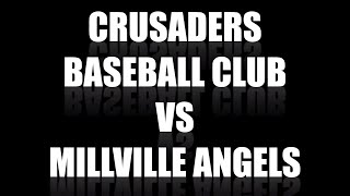 Crusaders Baseball Club 15U vs Millville Angels 15U at Perfect Game Super 25 Qualifier Vineland NJ