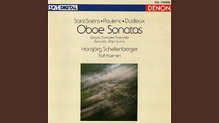 Oboe Sonata: I. Aria - Grave