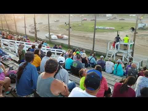 Bemidji Speedway 7 29 2018 mini stock feature