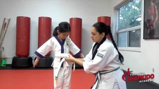 How to tie your child's Karate Belt | Toronto martial arts school, East York
