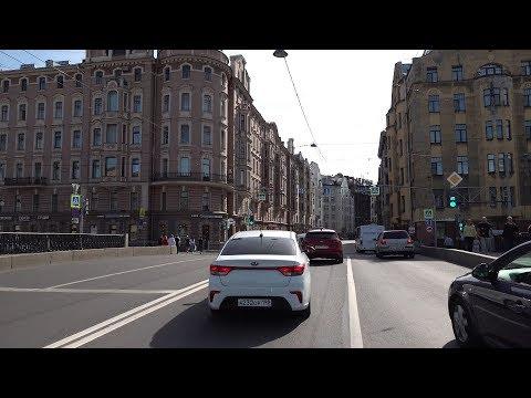 видео: На Машине по Санкт-Петербургу 4K