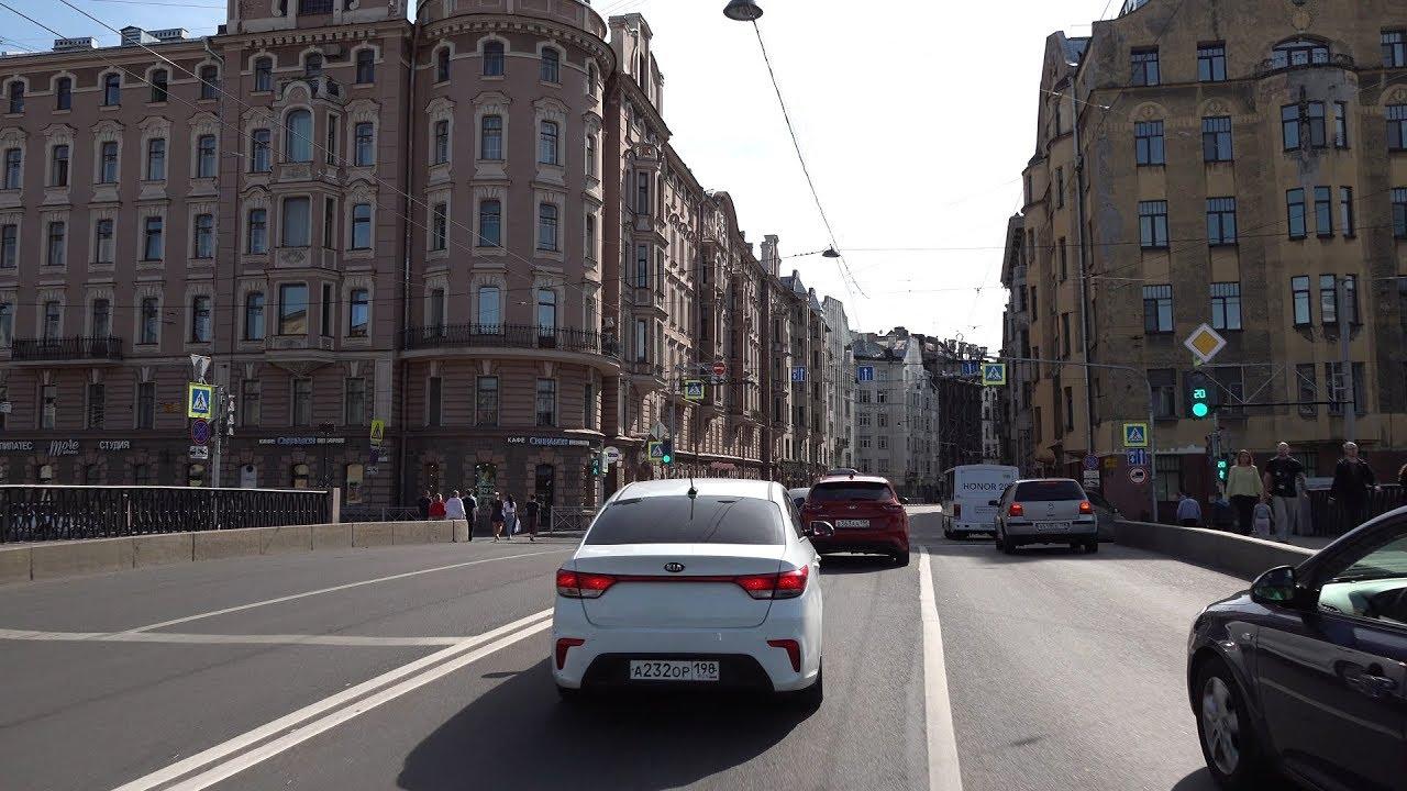 На Машине по Санкт-Петербургу 4K
