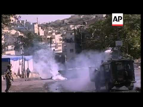 Israeli soldiers clash with Palestinians in E Jerusalem, WBank
