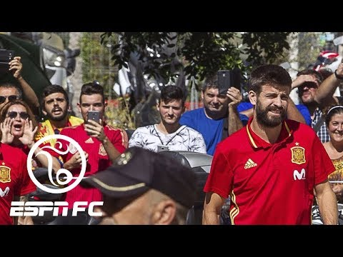 Gerard Pique clarifies his Spain comments | ESPN FC thumbnail