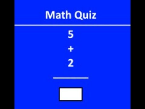 Making A Math Random Quiz Using Html, Js, And Css