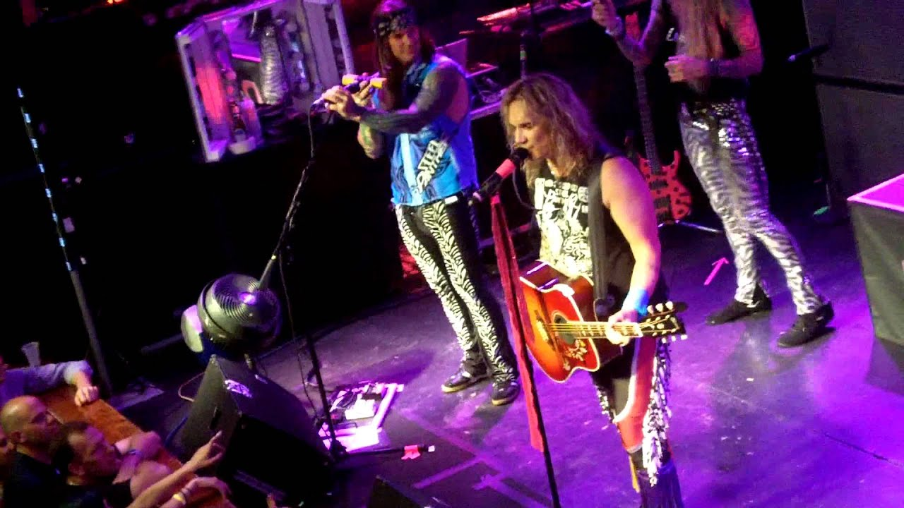 Steel Panther with Joey Faton from NSYNC-girl from