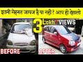 Dead Car Got Life |Ultimate Car Restoration in India  Full Story | Reviving a dead Hyundai Santro