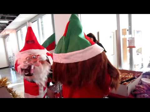 Holiday Bonus Time Starring Santa & The Elves