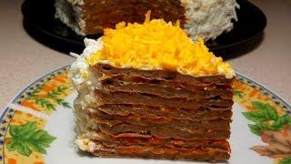 Печеночный торт. Мой любимый рецепт.