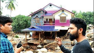 Flood Affected Areas in Kerala   Flood Relief Village Food Channel