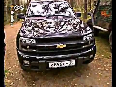 Chevrolet Trailblazer - тест драйв автомобиля